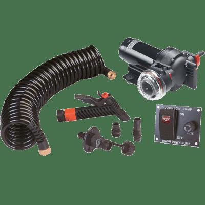 Johnson Pump #64534 AquaJet Washdown Kit 5.2GPM 12V