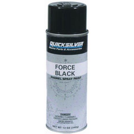 OEM Mercury Quicksilver Force Black Spray Paint 92-802878Q32
