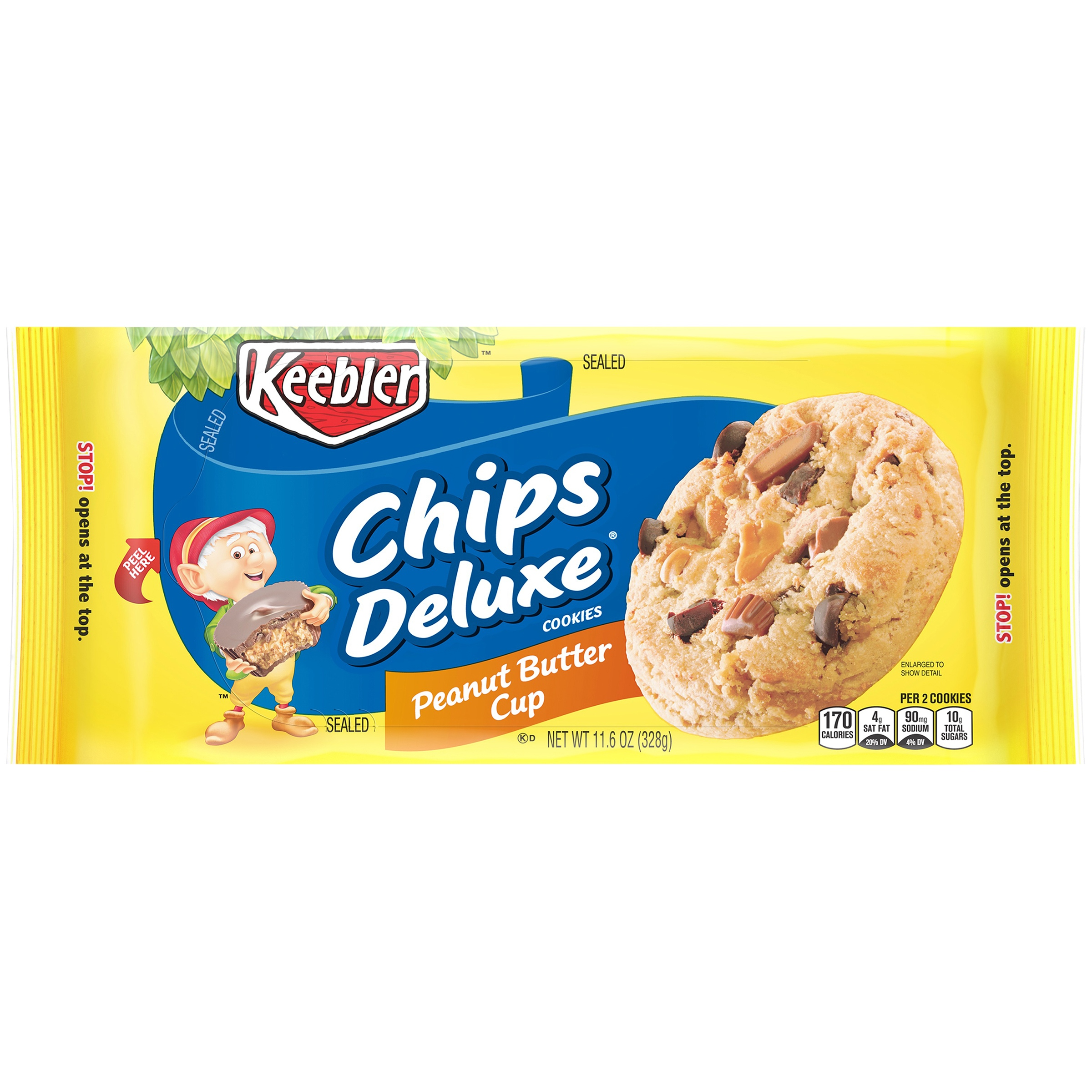 Keebler™ Chips Deluxe® Peanut Butter Cups Cookies 11.6 oz. Pack