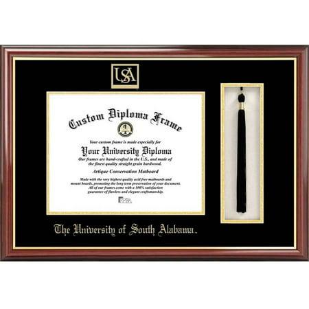 "University of South Alabama 8.5"" x 11"" Tassel Box and Diploma Frame"