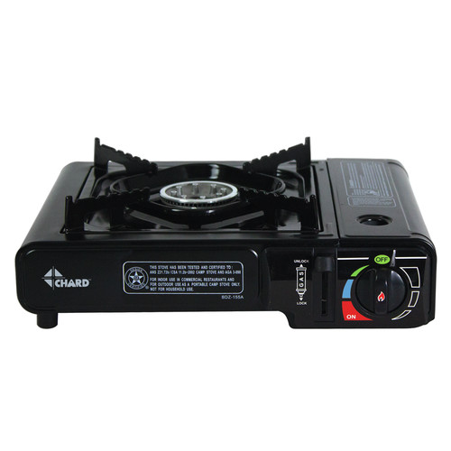 Chard 1-Burner Butane Stove by The Metal Ware Corp