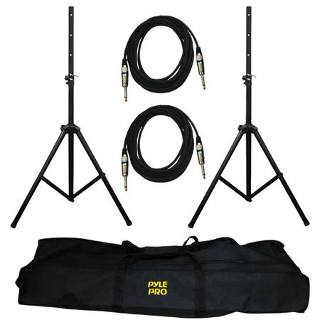 Pyle Pmdk-102 Pro-audio Speaker Stand And Cable Kit (pmdk102)