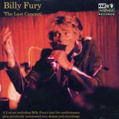 Billy Fury - Last Concert + Rarities [CD]