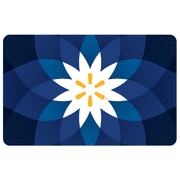 Basic Blue Flower Walmart eGift Card
