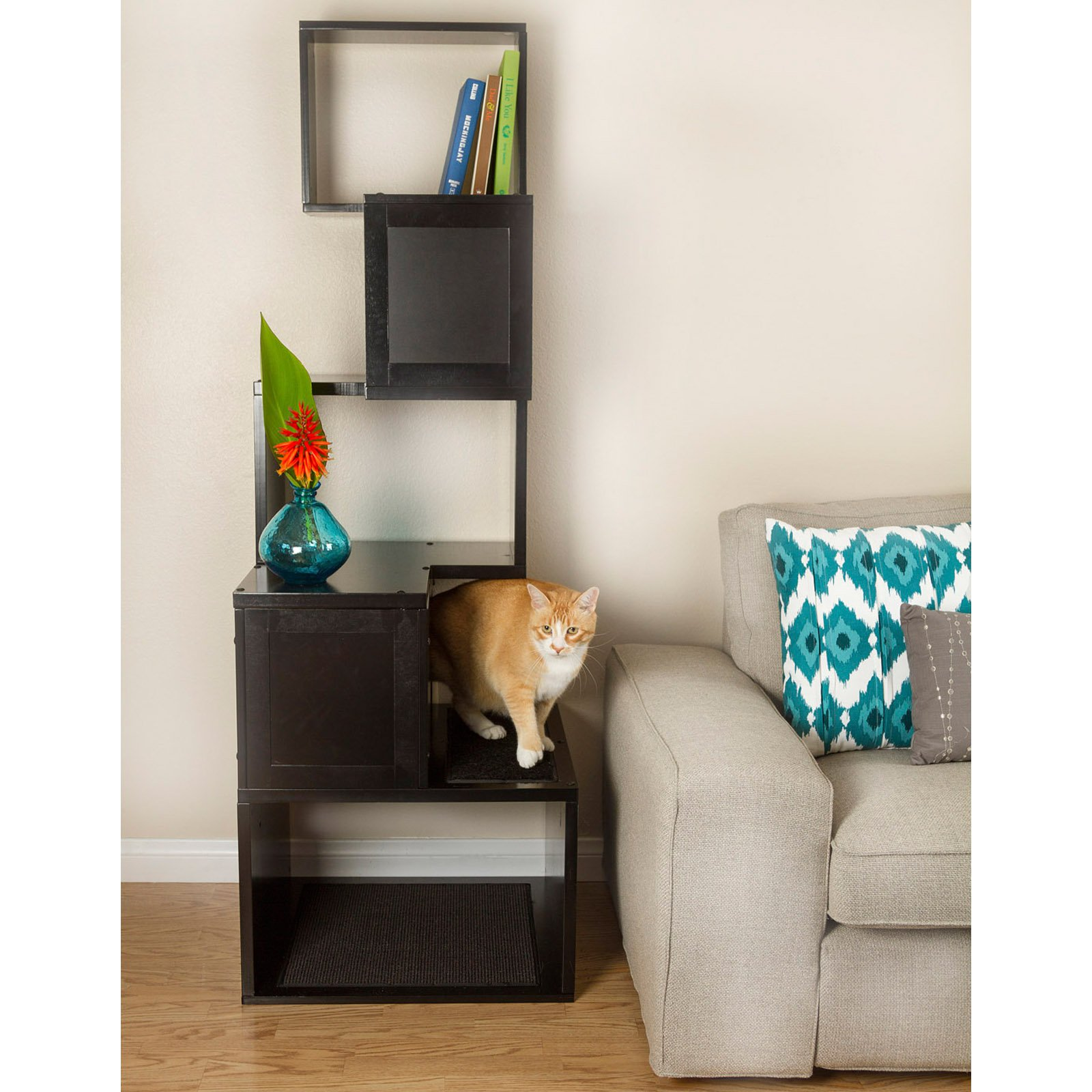 The Sebastian 67 In Modern Cat Tree Walmart Com