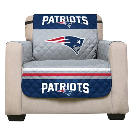 Nfl Team Logo Football Sports Fan Furniture Protector Cover Recliner Patriots