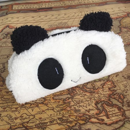 Cute Kawaii 3D Plush Panda Pencil Case School Supplies Novelty Item For Kids](Cute School Supplies Online)