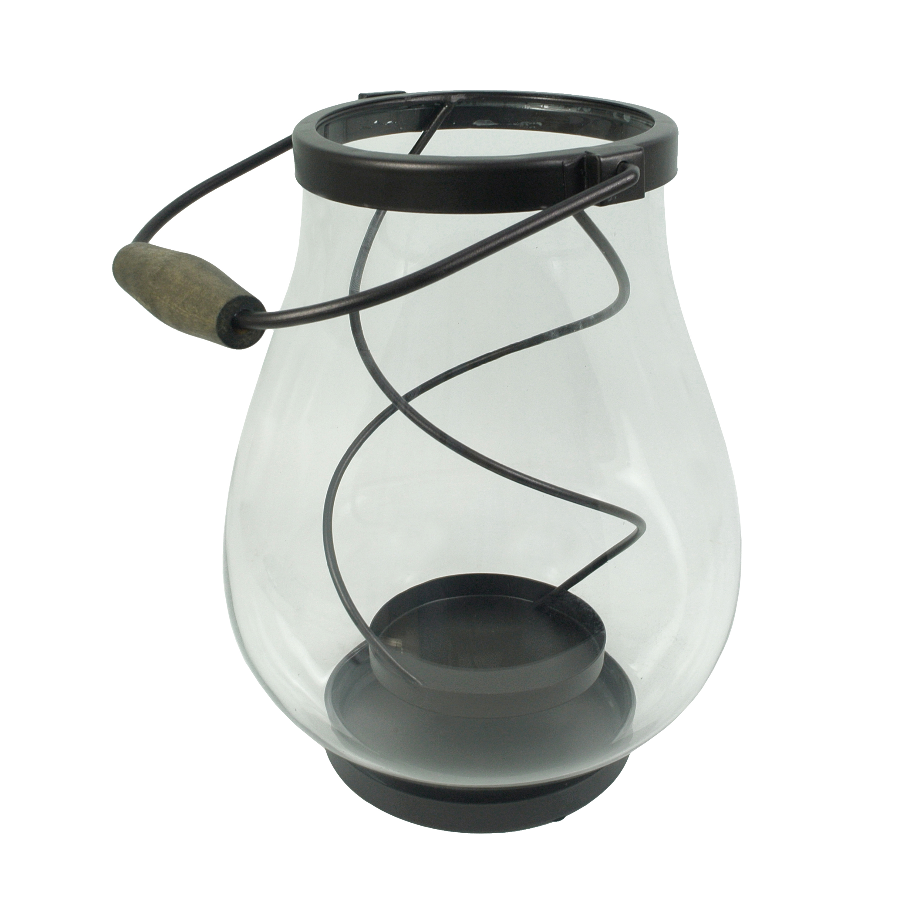 Better Homes and Gardens Floating Glass Hurricane Candle Holder