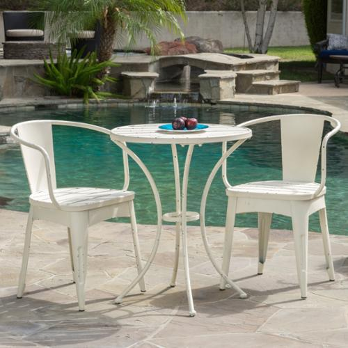Christopher Knight Home Colmar Outdoor 3-piece Bistro Set by