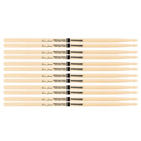 6 PACK ProMark Elvin Jones Jazz Wood Tip Hickory Drumsticks TXJZW-6