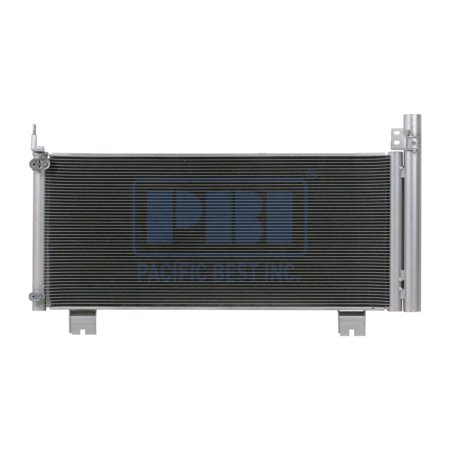 A-C Condenser - Pacific Best Inc For/Fit 3797 10-15 Lexus RX450H WITH Receiver &