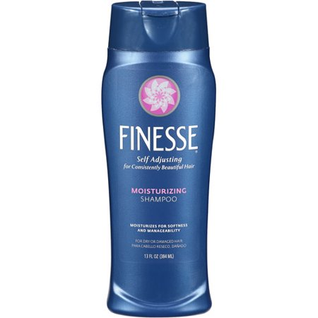 - (4 Pack) Finesse Restore + Strengthen Moisturizing Shampoo, 13 Oz