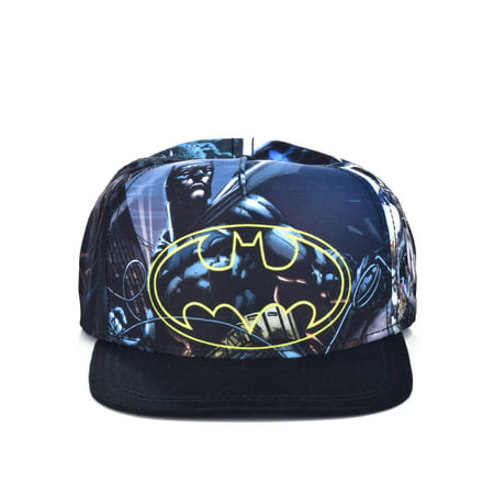 DC Comics Youth Batman Logo Snap-back Hat