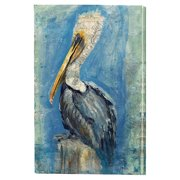 Cape Craftsmen Brown Pelican Indoor by Anthony Marrow on Canvas