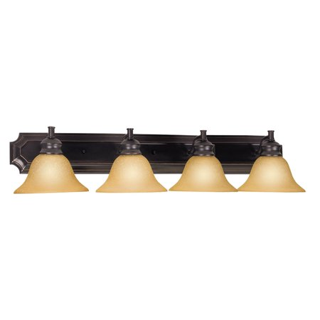 Design House 511758 Bristol 4-Light Vanity Light, Oil Rubbed (Bristol Place One Light)