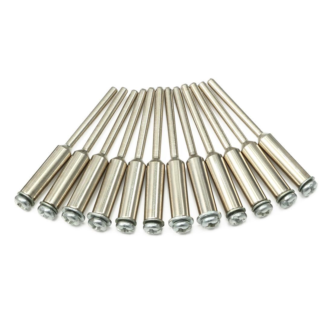 3mm Dia Diamond Cutting Wheel Mandrel Arbour Shaft 12pcs