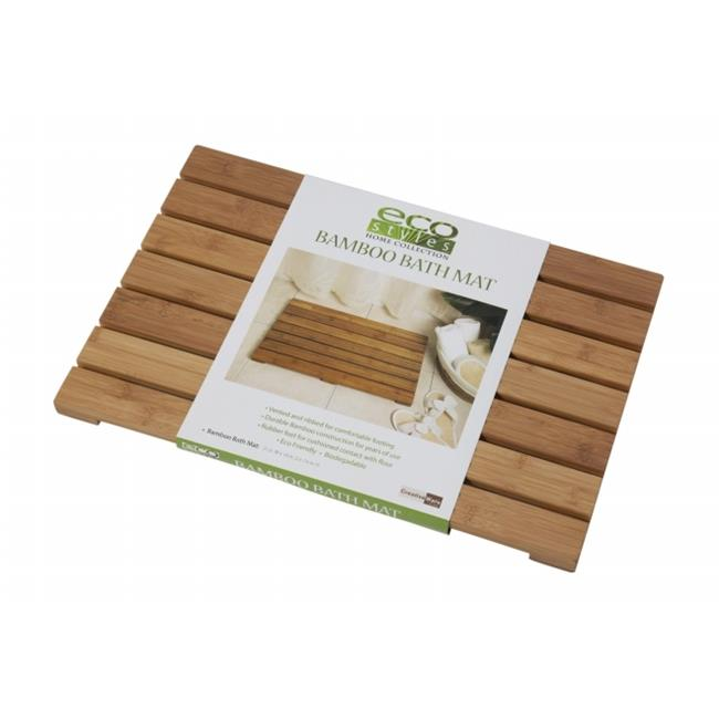 Creative Bath 34015 Eco Styles Bath Mat - Bamboo