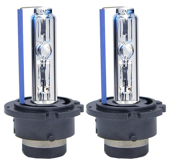 ICBEAMER JDM 8000K  D2S D2C D2R Xenon Headlight OEM Factory HID Direct Plug in Blue Light Bulbs