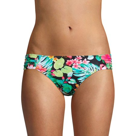 - Reversible Side-Shirred Hipster Bikini Bottoms