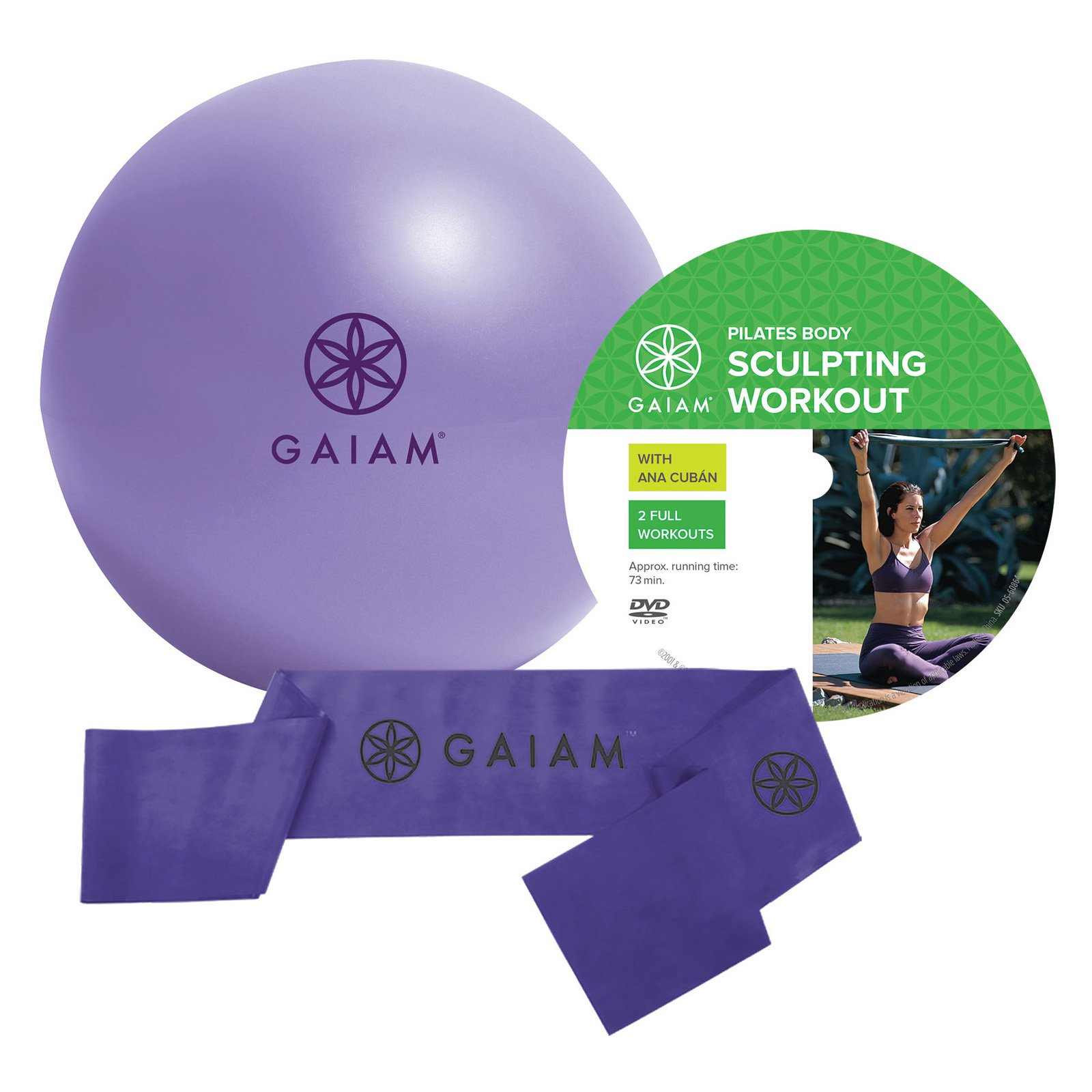 Gaiam Beginner's Pilates Kit