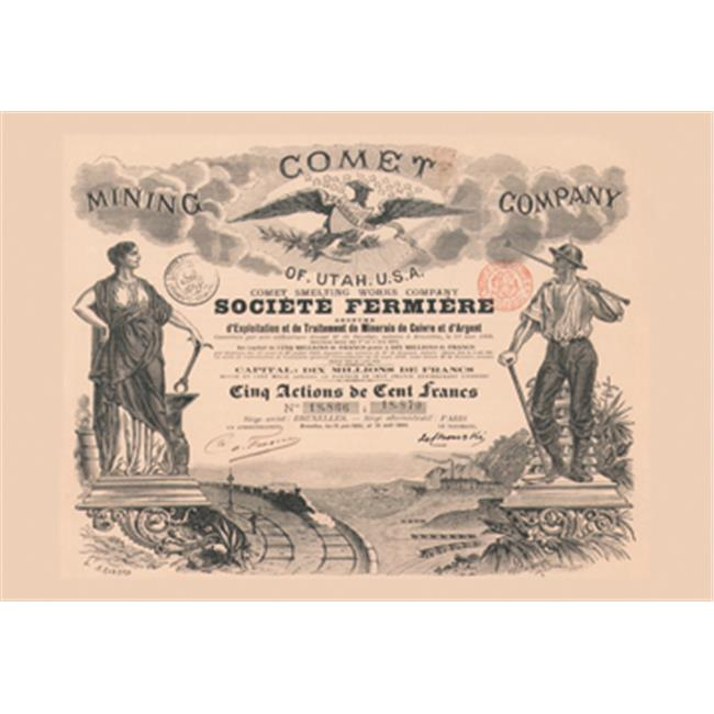 Buy Enlarge 0-587-00329-4P12x18 Comet Mining Company of Utah U. S. A. - Paper Size P12x18