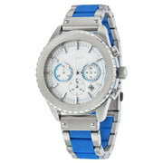 Chronograph White Dial Mens Watch NY8762