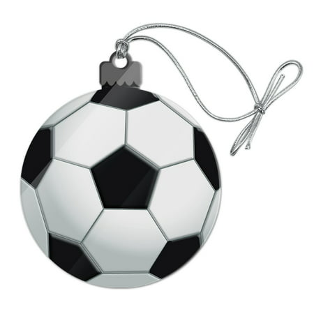Soccer Ball Football Acrylic Christmas Tree Holiday ...