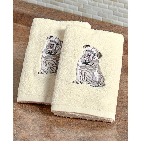 Dog Breed Hand Towels (Set of 2 Dog Breed Hand Towels)