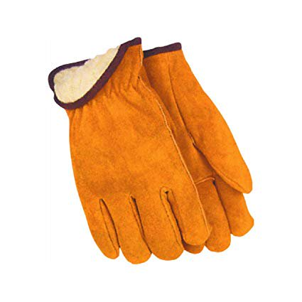 Mens Lined Leather Glove,No 706434,  Do It Best