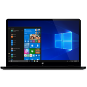 "Ematic 11.6"" convertible touchscreen laptop with windows 10 s, (ewt127rg) & Microsoft Office"