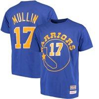 Chris Mullin Golden State Warriors Mitchell & Ness Hardwood Classics Retro Name & Number T-Shirt - Royal