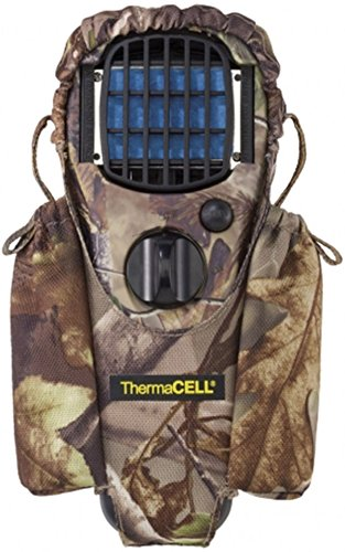Click here to buy ThermaCELL Mosquito Repellent Appliance Woodlands Camo and Holster Realtree by Thermacell.
