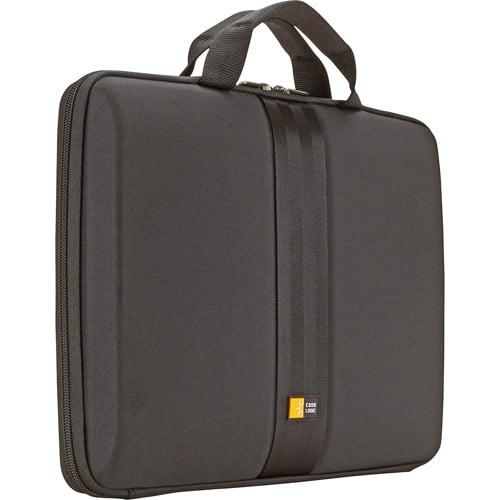 """Case Logic 13.3"""" Hard Shell Laptop Sleeve, Black"""