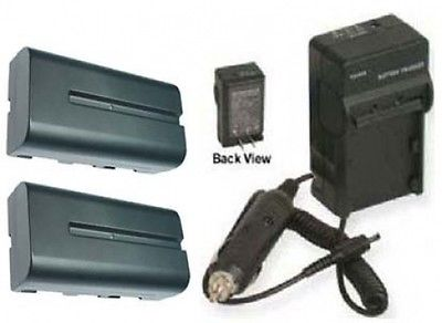 CCD-TRV59 Handycam Camcorder CCD-TRV58 Dual Channel Battery Charger for Sony CCD-TRV55 CCD-TRV57