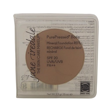 Jane Iredale PurePressed Base Pressed Mineral Powder REFILL - Light Beige .35