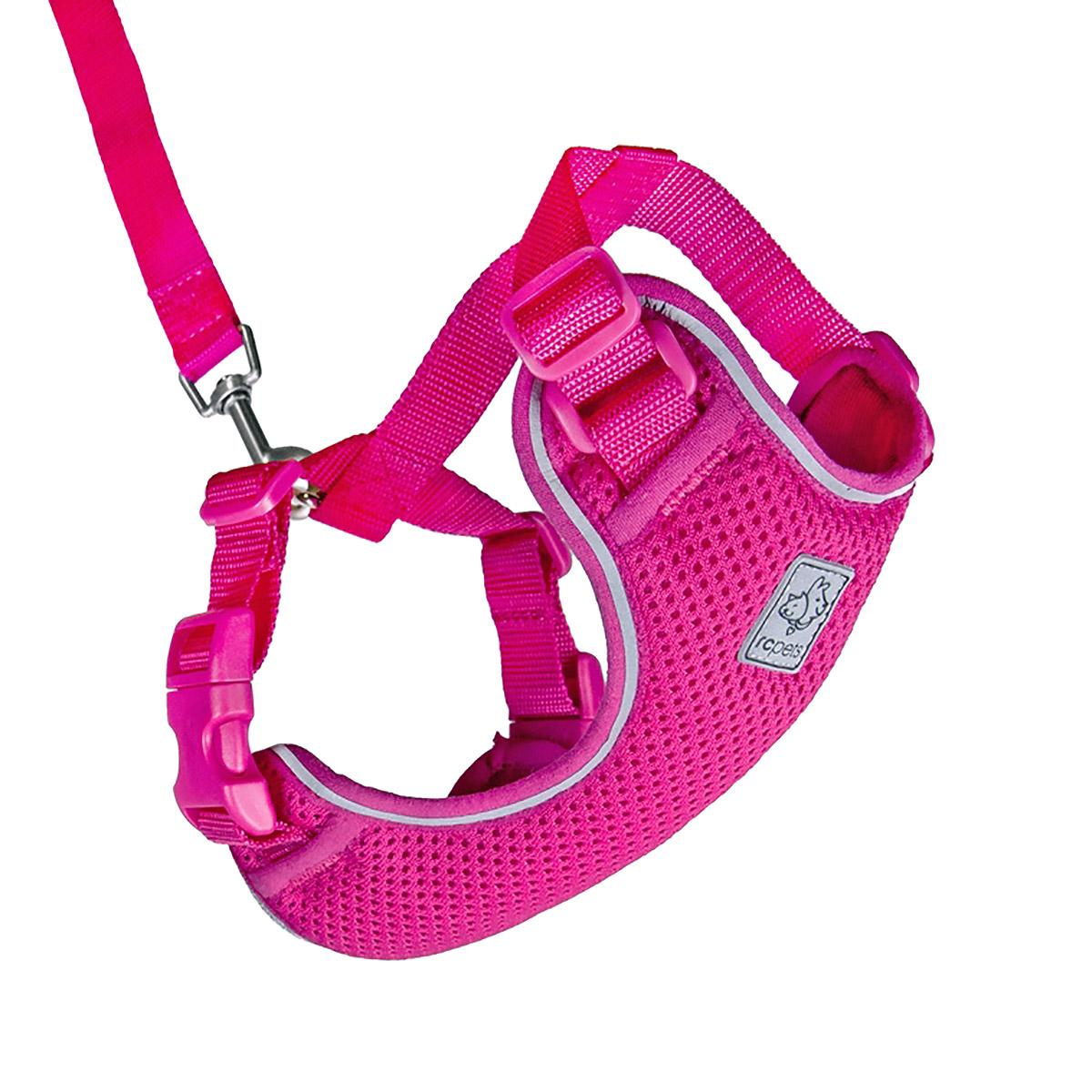 Adventure Kitty Cat Harness With Leash By Rc Pet - Raspberry - Large - Walmart Com