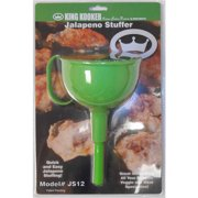 King Kooker JS12 Jalapeno Stuffer Funnel & Stuffing Rod
