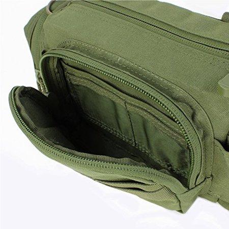 Deployment Bag - Adjustable & Removable Shoulder Strap / Web Carrying -