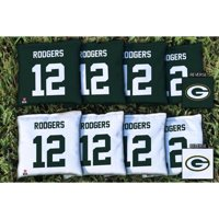 Aaron Rodgers Green Bay Packers Replacement Corn-Filled Cornhole Bag Set - No Size