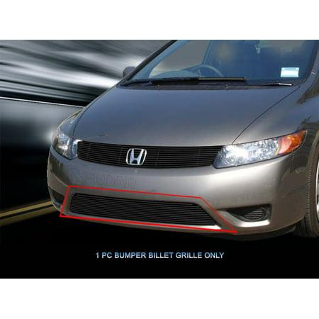Fedar Lower Bumper Billet Grille For 2006-2007 Honda Accord
