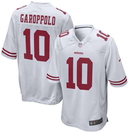 new product 42420 1118c Jimmy Garoppolo San Francisco 49ers Nike Game Jersey - White
