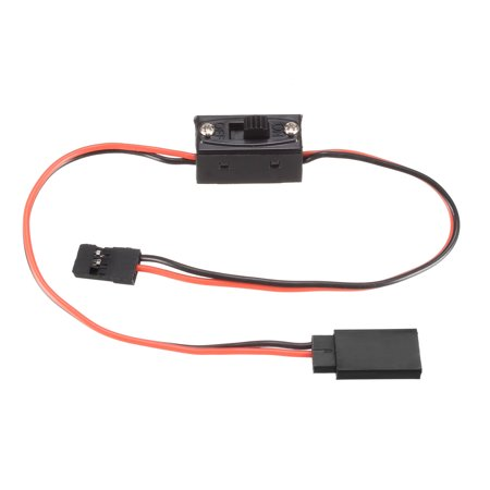 RC Products 2 Way On/Off Servo Wire Switch for JR Futaba Charge Cord