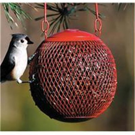 8' Red Bird Lovers Seed - No-no The Seed Ball Wild Bird Feeder- Red 6 Inch - RSB00343