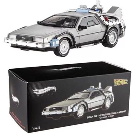 HOT WHEELS 1:43 ELITE BACK TO THE FUTURE TIME MACHINE WITH MR. FUSION