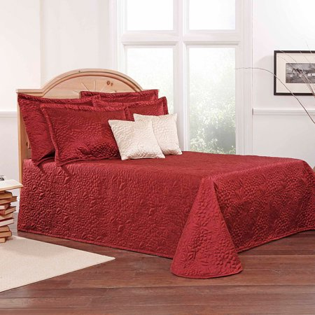 Works Gardenia - Belle Maison Gardenia Embroidered Quilted Bedspread