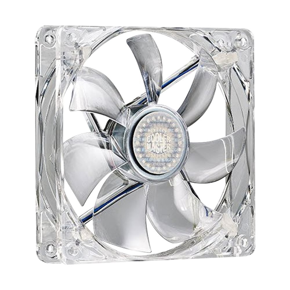 Cooler Master Blue LED Silent Fan 120 SI3 2-in-1