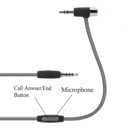 Griffin Aux Cable Car Stereo Wire Hands-free Mic Compatible With Kyocera  DuraForce, Cadence, Brigadier - LG Volt, Ultimate 2, Treasure, Transpyre,