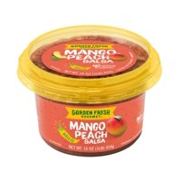Garden Fresh Gourmet Mango Peach Salsa - Mild, 16 oz.