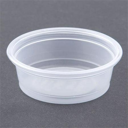 Dcc 050PC Plastic Souffle Portion Cups, 0.5 oz ...