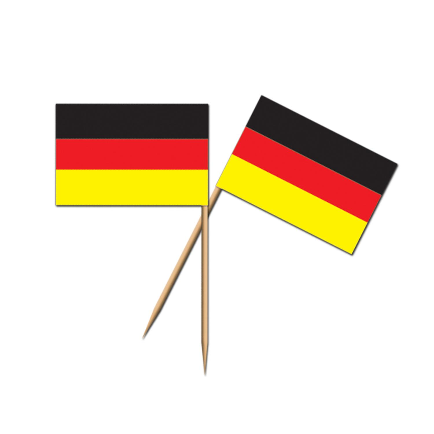 (600ct) Oktoberfest Party German Flag Picks by The Beistle Company